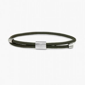 Pig & Hen Armband Little Lewis Army | Silver