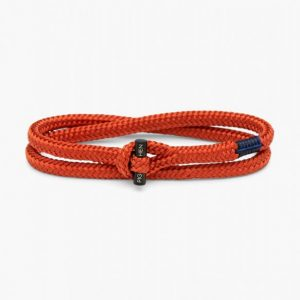 Pig & Hen Armband Tiny Ted Coral Red | Black