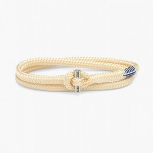 Pig & Hen Armband Tiny Ted Ivory | Silver