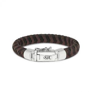 Silk Jewellery 326BBR Armband Zwart-Bruin