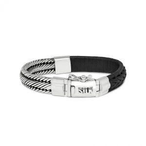 Silk Jewellery 741BLK Armband Zwart