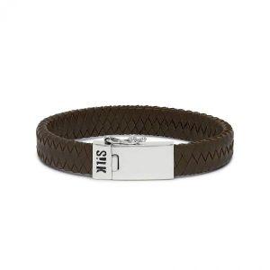 Silk Jewellery 841BRN Armband Bruin