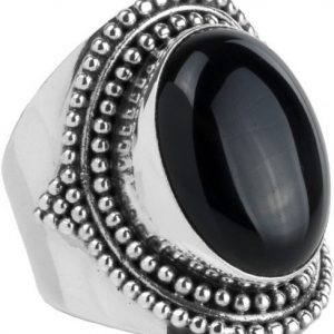 Ymala Zilveren Ring Onyx YM-0014
